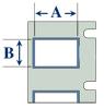 Brady TLS2200 Permasleeve Wire Marking Sleeves - Heat Shrinkable - Diagram
