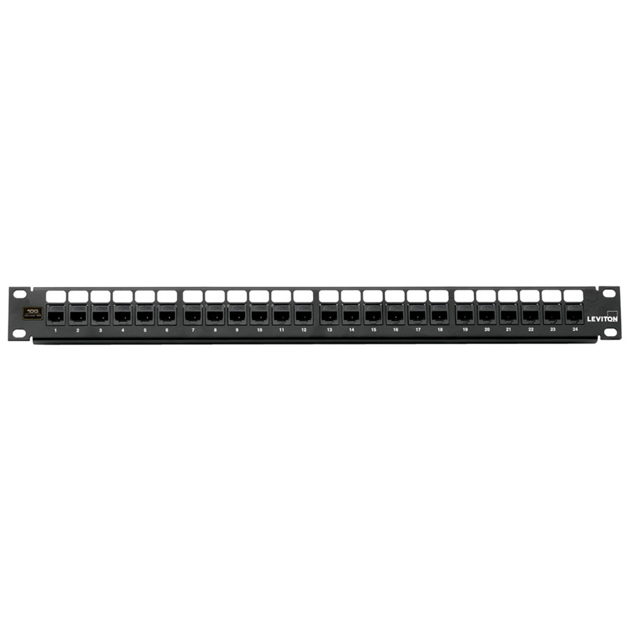 Leviton 69270-U24 24-Port CAT 6 Patch Panel