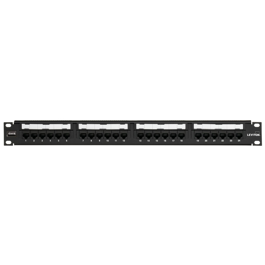 Leviton 69586-U24 24 port eXtreme 6+ Universal Patch Panels