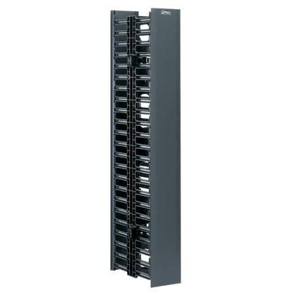 """Panduit WMPV45E Vertical Cable Manager  4""""w x 5""""d x 83""""h 45RU"""